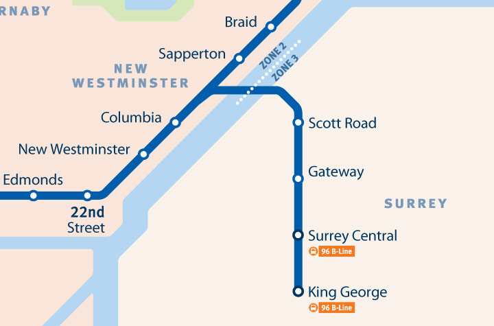 View All Skytrain Zones